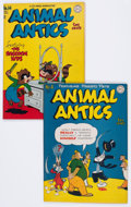 Golden Age (1938-1955):Funny Animal, Animal Antics #4 and 14 Group (DC, 1946-47).... (Total: 2 ComicBooks)