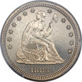 Proof Seated Quarters, 1883 25C PR66 Cameo PCGS. Briggs 1-A....