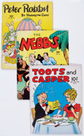 Golden Age (1938-1955):Miscellaneous, Large Feature Comics/Feature Book Group of 14 (Dell, 1940s).... (Total: 14 Comic Books)