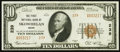 National Bank Notes:Maine, Skowhegan, ME - $10 1929 Ty. 2 The First NB Ch. # 239. ...