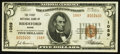 National Bank Notes:Maine, Biddeford, ME - $5 1929 Ty. 2 The First NB Ch. # 1089. ...