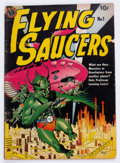 Golden Age (1938-1955):Science Fiction, Flying Saucers #1 (Avon, 1950) Condition: VG-....