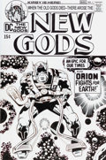 Original Comic Art:Covers, Bruce McCorkindale New Gods #1 Cover Re-Imagining OriginalArt (undated)....