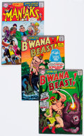 Silver Age (1956-1969):Miscellaneous, Showcase Group of 11 (DC, 1967-69) Condition: Average FN-....(Total: 11 Comic Books)