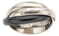 Estate Jewelry:Rings, Ceramic, White Gold Ring, Cartier. ...