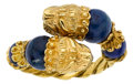 Estate Jewelry:Rings, Sodalite, Gold Ring, Lalaounis. ...