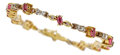 Estate Jewelry:Bracelets, Ruby, Diamond, Gold Bracelet, H. Stern. ...
