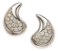 Estate Jewelry:Earrings, Diamond, White Gold Earrings, Marina B. ...