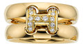Estate Jewelry:Rings, Diamond, Gold Ring, Hermès. ...
