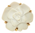 Estate Jewelry:Rings, White Agate, Gold Ring, Chanel. ...