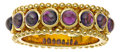 Estate Jewelry:Rings, Amethyst, Gold Ring, Paula Crevoshay. ...