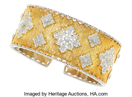 Diamond, Gold Bracelet, Buccellati...