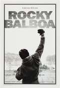 "Movie/TV Memorabilia:Posters, Rocky Balboa (Columbia Pictures, 2006) Limited Edition Mylar OneSheet Movie Poster Lot of 2 (27"" X 41"").... (Total: 2 Items)"
