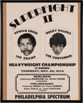 "Movie/TV Memorabilia:Memorabilia, A Prop Poster from ""Rocky Balboa"" (aka ""Rocky VI"")...."