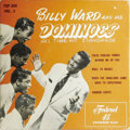 "Music Memorabilia:Recordings, ""Billy Ward and His Dominoes -- Vol. 3"" EP Federal 269 (1955).Ward's third EP for Federal spotlighted familiar standards, t..."