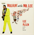 "Music Memorabilia:Recordings, Lee Allen ""Walkin' With Mr. Lee"" Mono LP Ember 200 (1958). Allenwas one of the many unsung session musicians who were highl..."