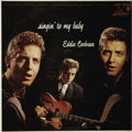 """Music Memorabilia:Recordings, Eddie Cochran """"Singin' To My Baby"""" Mono LP Liberty 3061 (1957). Just 18 when this album was released, it turned out to be hi..."""