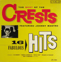 "Music Memorabilia:Recordings, ""The Best of the Crests/ 16 Fabulous Hits"" Mono LP Coed 904 (1961).Beginning with their cheek-to-cheek classic, ""Sixteen Ca..."