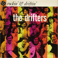"""Music Memorabilia:Recordings, Drifters """"Rockin' And Driftin"""" Black Label Mono LP Atlantic 8022(1958). The Rock and Roll Hall of Fame group worked first t..."""