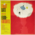 """Music Memorabilia:Recordings, """"First Date With The Ebon-Knights"""" Mono LP Stepheny 4001 (1959).This might be the best vocal group you've never heard of. T..."""