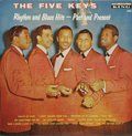 """Music Memorabilia:Recordings, Five Keys """"Rhythm and Blues Hits -- Past and Present Mono LP King692 (1960). The Keys hit #1 on the R&B charts in 1951, and..."""