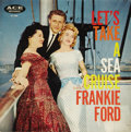 "Music Memorabilia:Recordings, Frankie Ford ""Let's Take A Sea Cruise"" Mono LP Ace 1005 (1957). Thetitle song was one of the fifties most infectious tunes,..."
