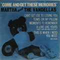 "Music Memorabilia:Recordings, Martha and the Vandellas ""Come And Get These Memories"" Mono LPGordy 902 (1963). Brilliant copy of the group's first album i..."