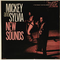 """Music Memorabilia:Recordings, Mickey and Sylvia """"New Sounds"""" LP Vik 1102 (1957). Rock 'n Rollalbums were not terribly popular in the early days, and this..."""