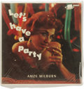 "Music Memorabilia:Recordings, Amos Milburn ""Let's Have A Party"" Mono LP Score 4012 (1957).Milburn never had a crossover hit, but is a prime candidate for..."