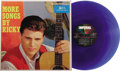 "Music Memorabilia:Recordings, Ricky Nelson ""More Songs By Ricky"" Blue Vinyl Promo Stereo LP with Poster Imperial 12059 (1960). Here's a Ricky-fan's dream:..."