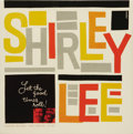 """Music Memorabilia:Recordings, Shirley & Lee """"Let the Good Times Roll"""" Mono LP Aladdin 807(1956). The duo were just teenagers when they scored their first..."""