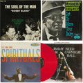 """Music Memorabilia:Recordings, Various Blues Legends Group of Four LPs (1960-66). Quite a Blues sampler when you can combine the likes of Bobby """"Blue"""" Blan... (Total: 4 Items)"""
