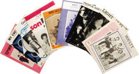 Various Artists Sheet Music Group of 10 (1965-70). Covering lots of bases with this mostly 1960s mix of sheet music, all...