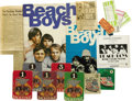 Music Memorabilia:Memorabilia, Beach Boys Concert Tickets. This set of 14 used ticket stubs andbackstage passes from various Beach Boys performances incl...