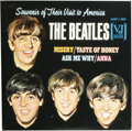 "Music Memorabilia:Recordings, The Beatles ""Souvenir of Their Visit to America"" EP Vee-Jay 903(1964). Superb copy of this EP, the only one issued by Vee-J..."