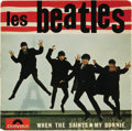 "Music Memorabilia:Recordings, ""Les Beatles"" EP Polydor 21914 (France, 1964). There were severalpicture sleeve variations for the 2nd Beatles EP from Fran..."