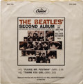 "Music Memorabilia:Recordings, Beatles ""The Second Album"" Promo Open-End Interview Mono EP 33 Compact Capitol PRO 2598-99 (1964). This is one of the rarest..."