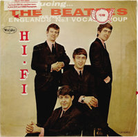 """Introducing The Beatles"" Sealed Mono LP Vee-Jay 1062 (1964). Unbelievable coolness! A mono ""titles back&..."