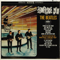 """Music Memorabilia:Recordings, Beatles """"Something New"""" Sealed Stereo LP Capitol 2108 (1964). Thegroup's third album on Capitol continued the trend of incl..."""