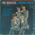 "Music Memorabilia:Recordings, ""The Beatles & Frank Ifield On Stage"" Portrait Cover Mono LP Vee-Jay 1085 (1964). Just four Beatles songs on this 12-song al..."