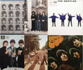 Music Memorabilia:Recordings, Beatles Import Album Group of 8 Various Labels (1964-70). That theFab Four was the world's most popular band is illustrated...(Total: 8 Items)