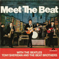 """Music Memorabilia:Recordings, Beatles With Tony Sheridan """"Meet The Beat"""" Stereo 10"""" LP Polydor74557 (1965). True, the Beatles are really performing on ju..."""