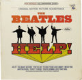 """Music Memorabilia:Recordings, Beatles """"Help"""" Sealed Stereo LP Capitol 2386 (1965). Despite offering only seven vocal cuts (the other five were instrumenta..."""