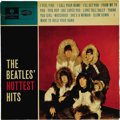 """Music Memorabilia:Recordings, """"The Beatles' Hottest Hits"""" Mono LP Parlophone 306 (Denmark, 1965).An eclectic compilation -- at least for the American fan..."""