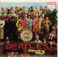 "Music Memorabilia:Recordings, Beatles ""Sgt. Pepper's Lonely Hearts Club Band"" Sealed Stereo LPCapitol 2653 (1967). The Beatles' biggest and, probably, mo..."