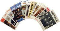 "Beatles Sheet Music Group of 12 (1964-67). Key songs from the group's key years, including 1964 hits ""Please Please..."
