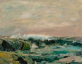 Paintings, Paul Richard Schumann (American, 1876-1946). Rough Sea. Oil on board. 16 x 20 inches (40.6 x 50.8 cm). Signed lower righ...