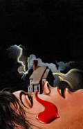Original Comic Art:Covers, Mysterious House On A Face Painting (undated)....