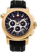 "Movie/TV Memorabilia:Instruments , Bucherer Ref. 10620 ""Patravi Travel Tec GMT"" Rose GoldChronograph..."