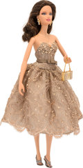 "Luxury Accessories:Home, Judith Leiber Limited Edition Barbie Doll with MiniatureMinaudiere. Very Good to Excellent Condition.  6"" Width x12...."